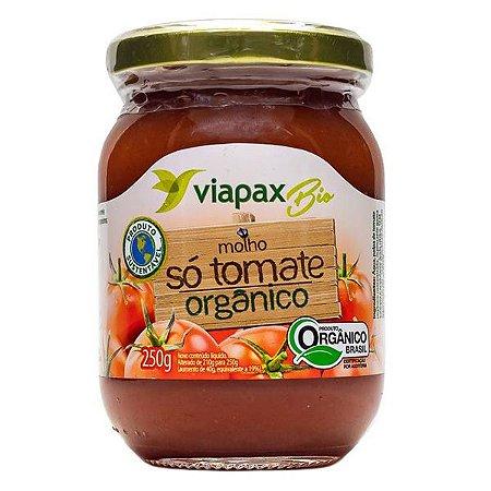 Molho Só Tomate Orgânico Viapax 250g