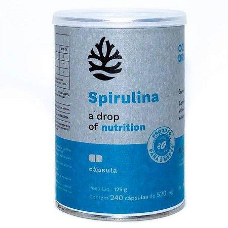 Spirulina 240 Cápsulas Ocean Drop