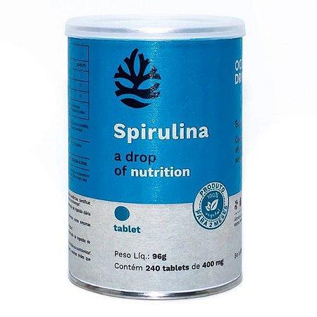 Spirulina 240 Tabletes Ocean Drop