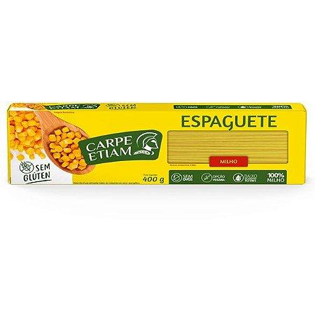 Massa Espaguete de Milho Carpe Etiam 400g
