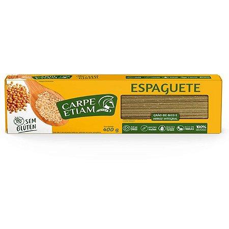 Massa Espaguete de Grão de Bico Carpe Etiam 400g