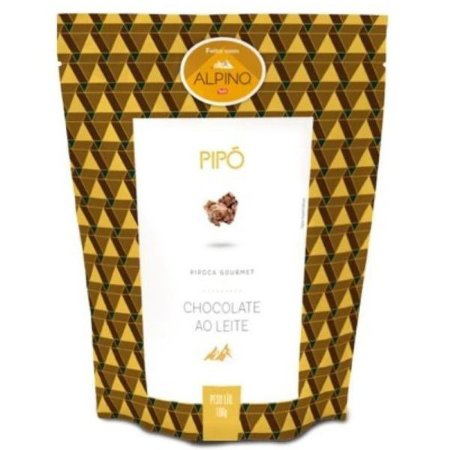 Pipoca Gourmet Chocolate Alpíno Pipó
