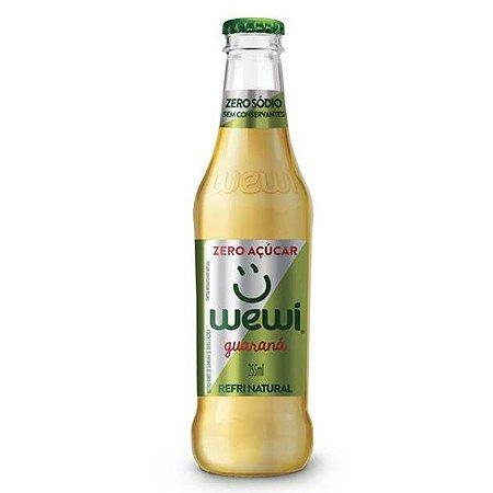 Refrigerante Orgânico Guaraná Zero Wewi 255ml