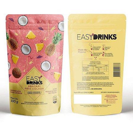 Base para Drink Piña Colada Sachê Easy Drinks 100g