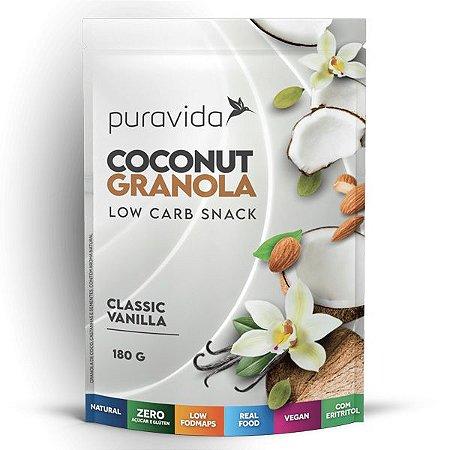 Granola de Coco com Vanilla Pura Vida 180g