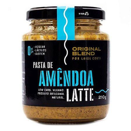 Pasta Amêndoa Latte Original Blend 210g