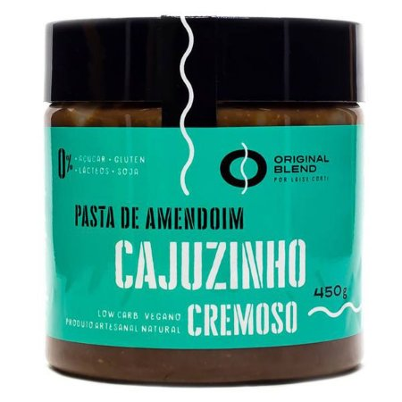 Pasta de Amendoim Cajuzinho Original Blend 450g