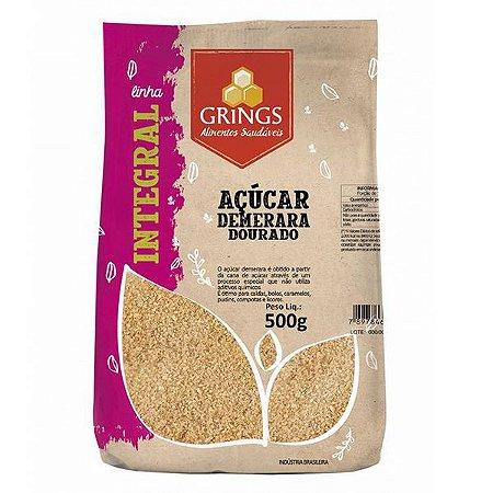 Açúcar Demerara Integral Grings 500g