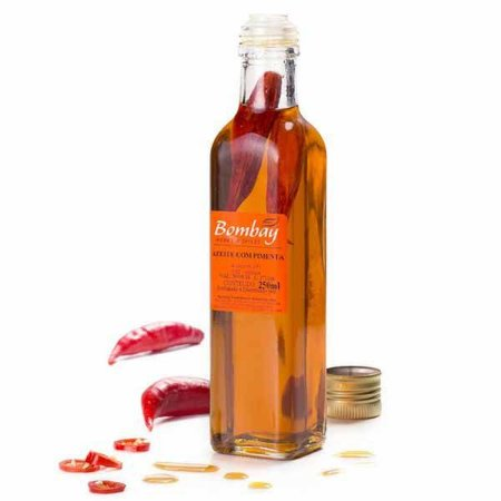 Azeite Extra Virgem com Pimenta Bombay 250ml