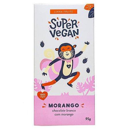 Chocolate Branco com Morango Super Vegan 95g