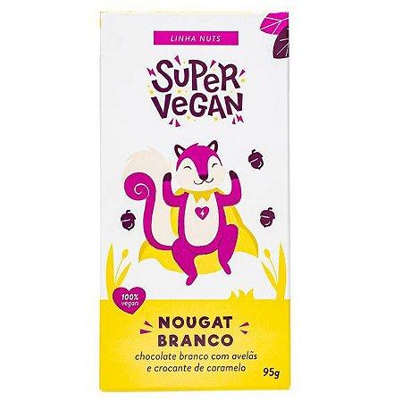 Chocolate Branco Nougat Super Vegan 95g