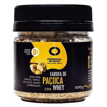 Farofa de Paçoca com Whey Original Blend 100g