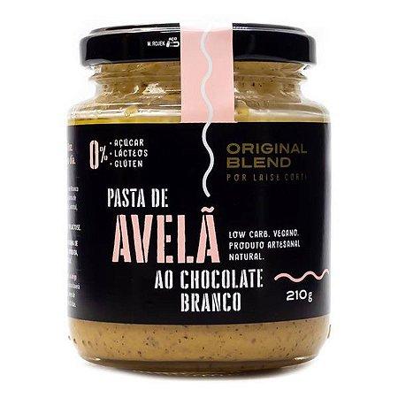 Pasta Avelã ao Chocolate Branco Original Blend 210g