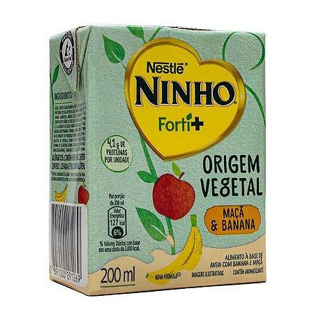 Bebida Vegetal Ninho Forti+ Maçã e Banana Nestlé 200ml