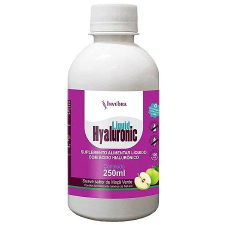 Hialurônico Líquido sabor Maçã Verde 250 ml