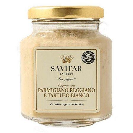 Crema con Parmigiano Reggiano e Tartufo Bianco Savitar 180g