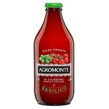 Molho de Tomate Basilico Agromonte 330g