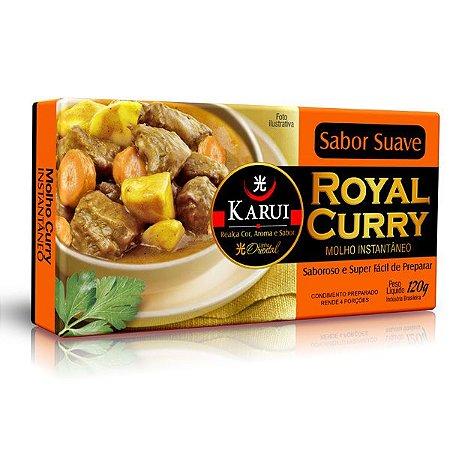 Caldo Royal Curry Suave Karui 120g