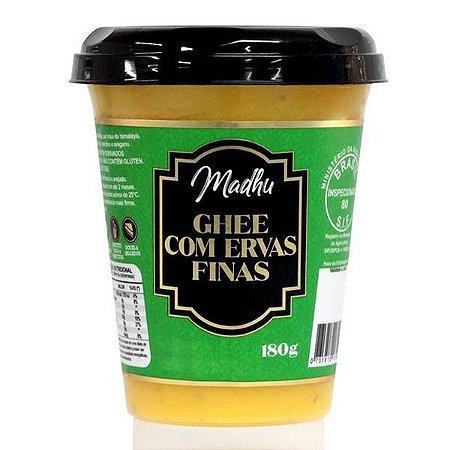 Manteiga Ghee com Ervas Finas Madhu 180g