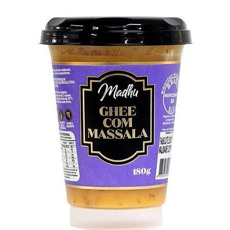 Manteiga Ghee com Massala Madhu 180g