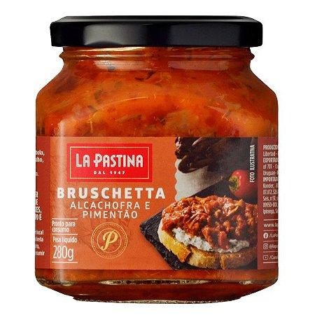 Bruschetta Alcachofra e Pimentão La Pastina 280g