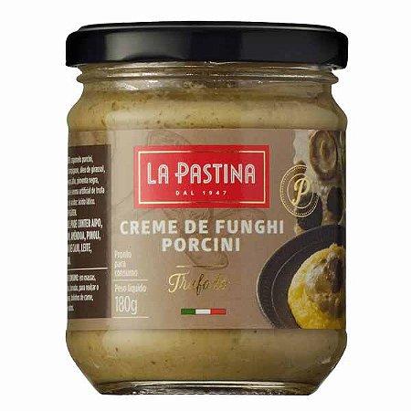 Creme de Funghi Porcini Trufado La Pastina 180g