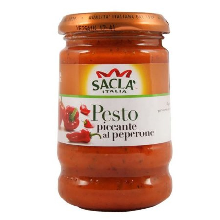 Molho Pesto Piccante al Peperoni Sacla 190g