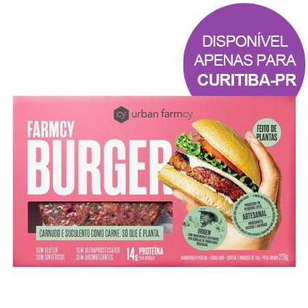 Burger Plant Based Urban Farmcy 220g