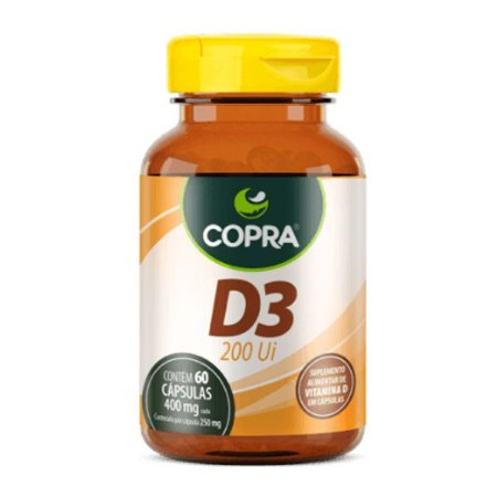 Vitamina D3 Copra 60 Cápsulas