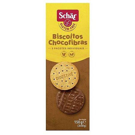 Biscoito Chocolate Digestive Choc Schar
