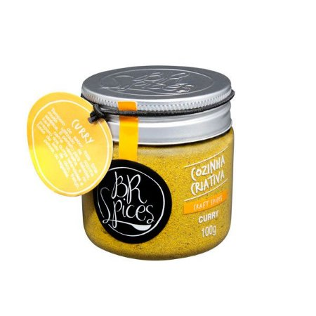 Curry BR Spices - pote 100g