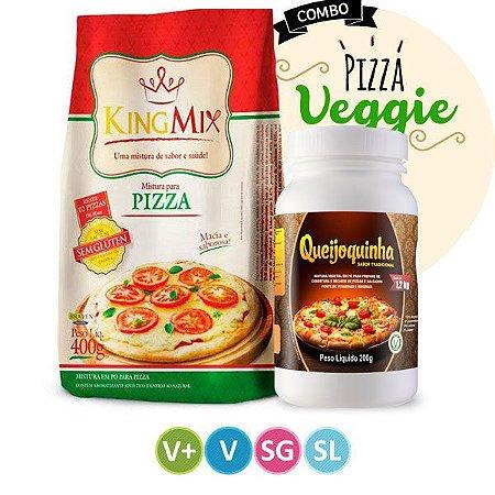 Kit Pizza Veggie Sem Glúten