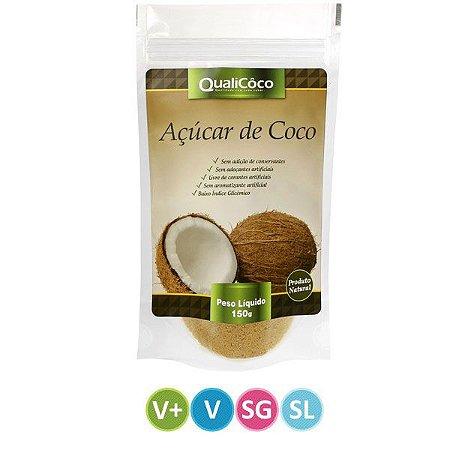 Açúcar de Coco Qualicoco - 150g