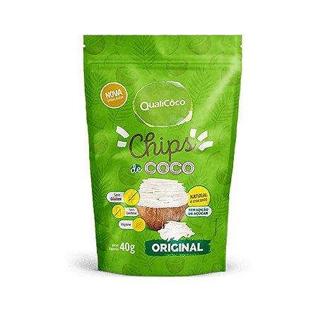 Chips de Coco Original Qualicoco