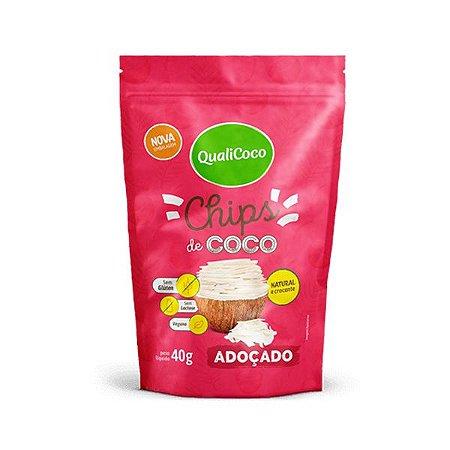 Chips de Coco Adoçado Qualicoco