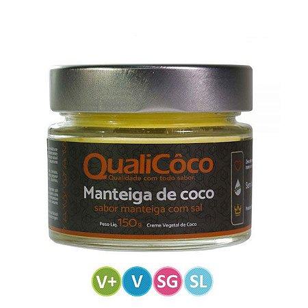 Manteiga de Coco com Sal Qualicoco