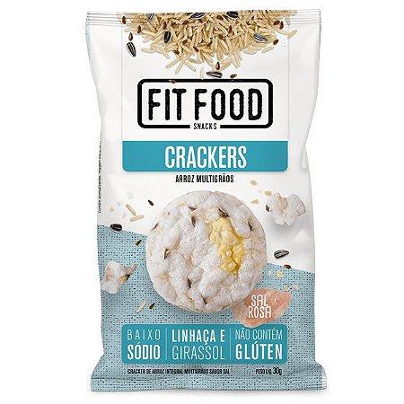 Biscoito Cracker de Arroz Multigrãos Fit Food 30g
