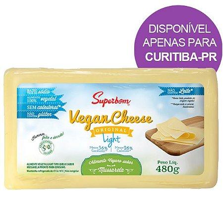 Queijo Vegano Sabor Mussarela Light 480g