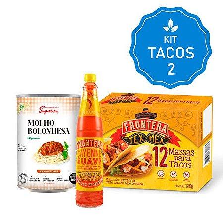 Kit Tacos Tex Mex Veggy