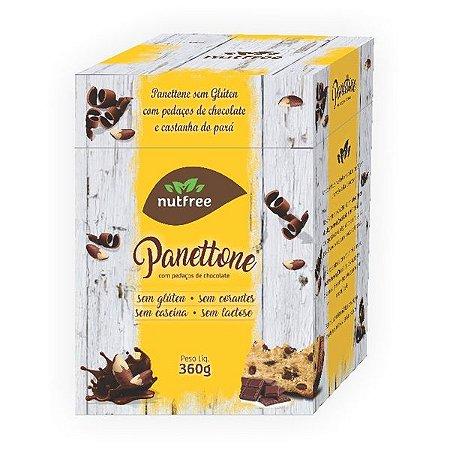 Panetone de Chocolate Sem Glúten Nutfree 360g