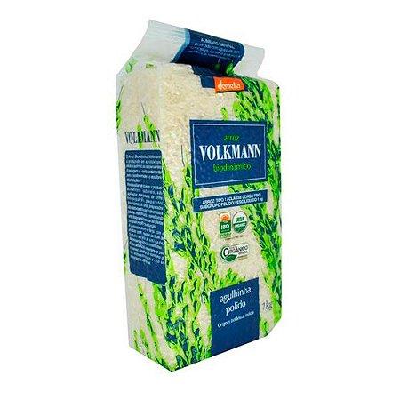 Arroz Agulhinha Polido Biodinâmico Volkmann 1Kg