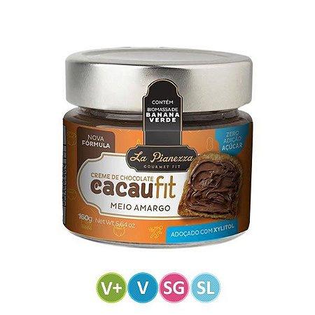 Creme de Chocolate Cacaufit - Meio Amargo - 145g
