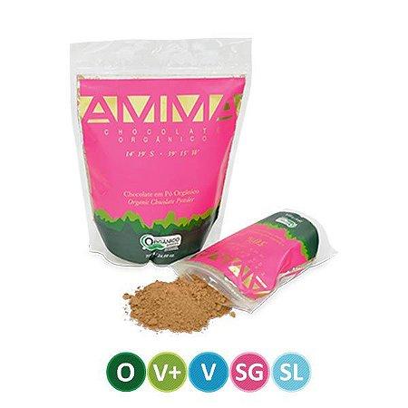 Chocolate em Pó Orgânico 50% Cacau AMMA 200g