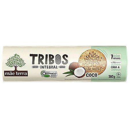 Biscoito Orgânico sabor Coco Tribos 130g