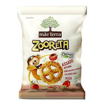 Salgadinho Orgânico Zooreta Pizza Mãe Terra