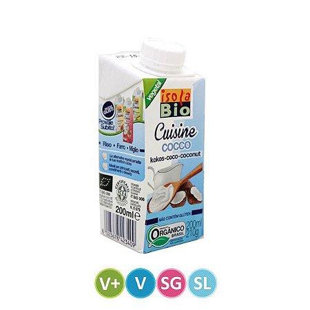 Leite de Coco para Uso Culinário Sem Lactose 200ml