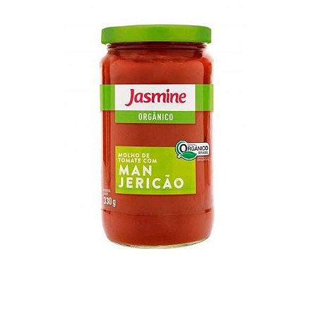 Molho Orgânico de Tomate com Manjericão 330g