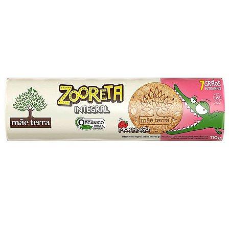 Biscoito Zooreta Orgânico sabor Morango 130g
