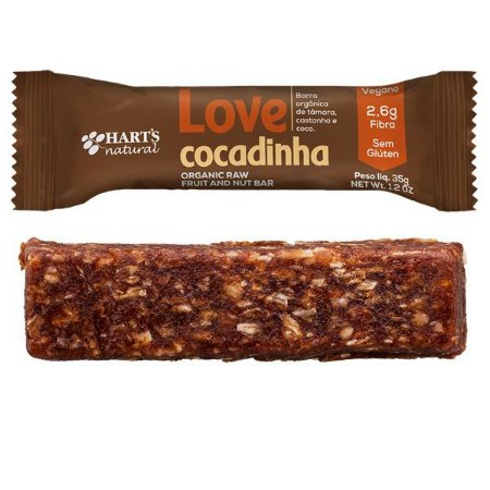 Barra Vegana Love Cocadinha Hart's