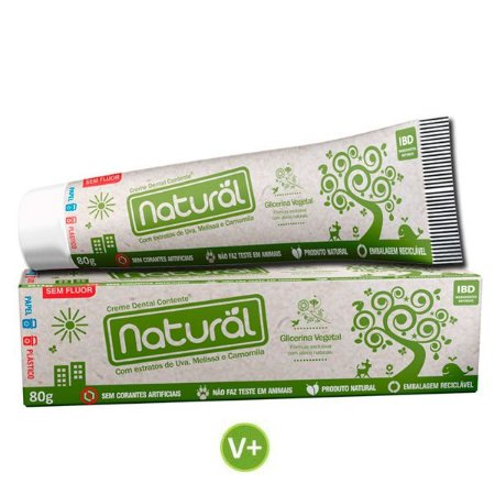 Creme Dental Vegano Natural